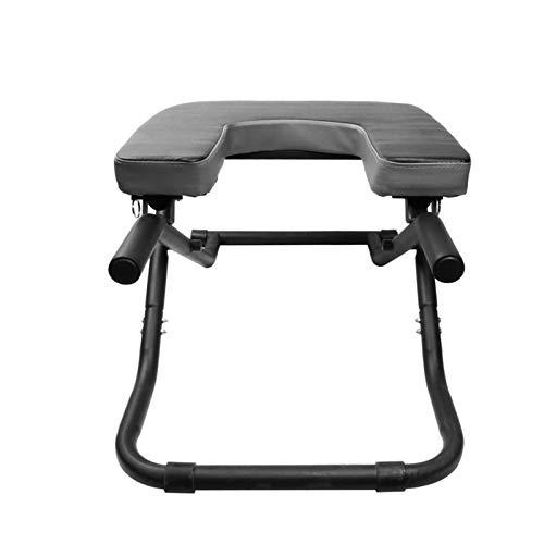 Silla de Yoga Plegable Inversión Equipo de Terapia Ejercicio Fitness Taburete Prop Nook Obra al revés Dispositivo de Entrenamiento XQ-1.22