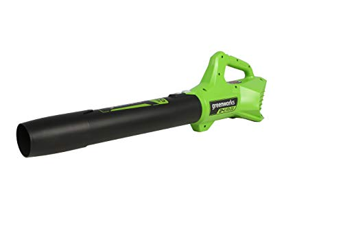 Greenworks 90 MPH 320 CFM 24-Volt Battery Cordless Handheld Leaf Blower (Tool-Only)