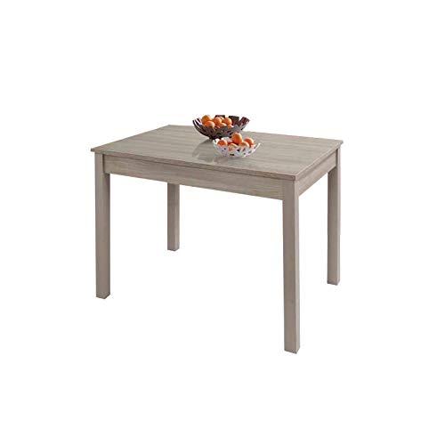 WEBMARKETPOINT Tavolo da Pranzo Allungabile Olmo in Legno Nobilitato Cm 60x90/120