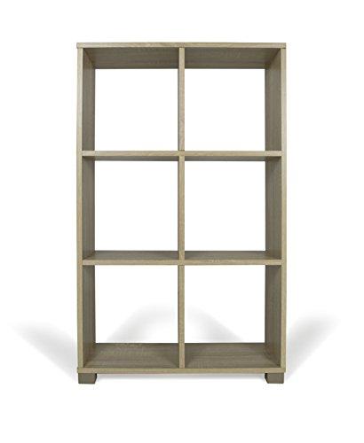 TrendyItalia 12969 Libreria Rovere, Legno, Beige, 60 x 24 x 99.5 cm