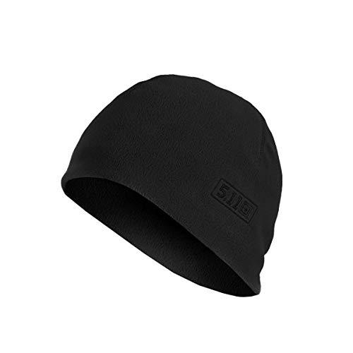 5.11 Tactical Watch Cap Cold Weather Outdoor Fleece Beanie Style 89250, Herren, Dunkles Marineblau, Small-Medium
