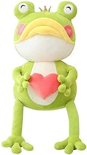 Siamrose Juguetes de peluche 45 cm de dibujos animados de boca grande amor rana muñeca grande almohada peluche animal decoración del hogar hecha a mano Ragdoll muñeca GIF Qingqiao LTLNB