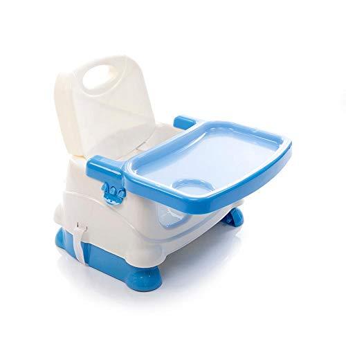 Cadeira Alimentação Bebê Portátil Dobrável Fun Voyage Azul