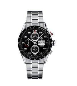 TAG Heuer Herren-Armbanduhr Cv2a10.ba0796 Carrera Automatik Chronograph