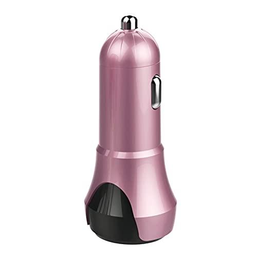 GZA Mini Humidificador De Aire Difusor Aceite Esencial Anti-seco Cleaner De Automóvil Purificador De Niebla Sin Ruido (Color : Pink)