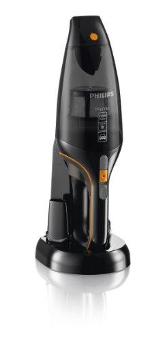 Philips FC6149/01 Autostaubsauger (Akku Handstaubsauger, beutellos, 12V NiMH, mit Zubehör Kit, schwarz - 4