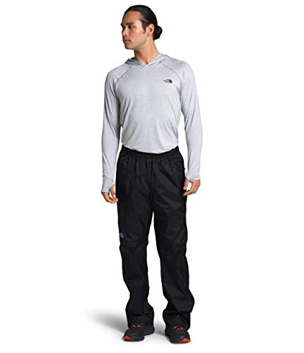 The North Face Men's Venture 2 Half Zip Pant, TNF Dark Grey Heather/Asphalt Grey, Small, Regular