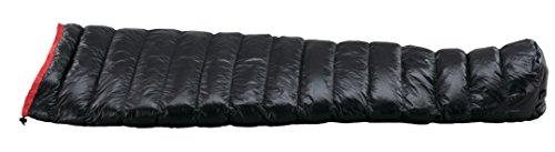 イスカ(ISUKA) 寝袋 エア130X ブラック [最低使用温度8度]