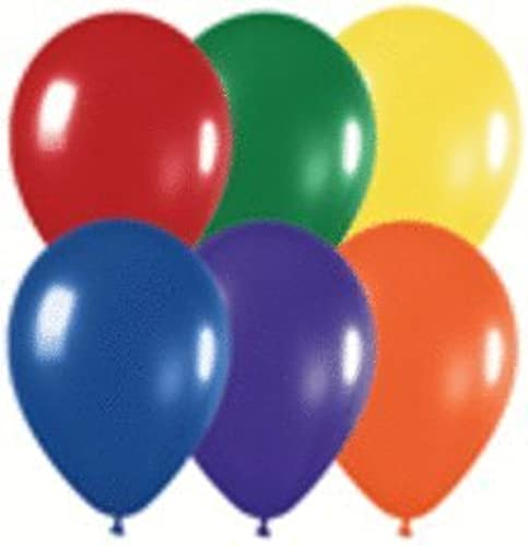 11 Crystal Assortment BeGrößetex Balloons (100 ct) by Mayflower Products