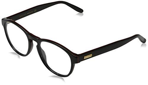 Gucci Unisex – Erwachsene GG0273O-001-50 Brillengestell, Schwarz, 50