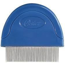 Oster Animal Care Comb & Protect Flea Comb for Cats 2 pack