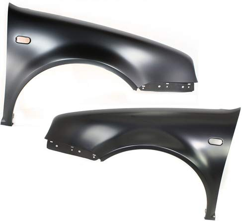 Front Fender Compatible with 1999-2006 Volkswagen Golf Driver and Passenger Side