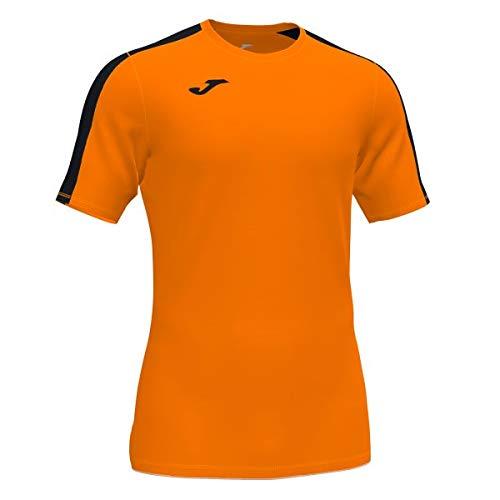 Joma Academy Camiseta Juego Manga Corta, Hombre, Naranja Negro, XL