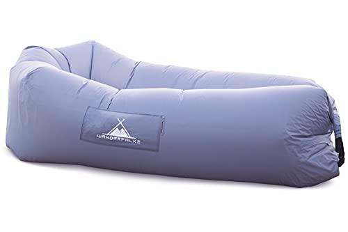 WANDERFALKE Luftsofa / Air Lounger Design 2021 (Eisgrau)
