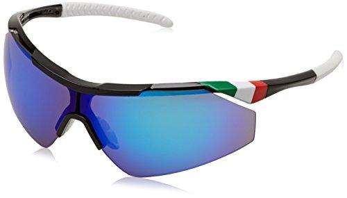 Salice 004ITA Fahrrad-Brille, Unisex für Erwachsene M schwarz