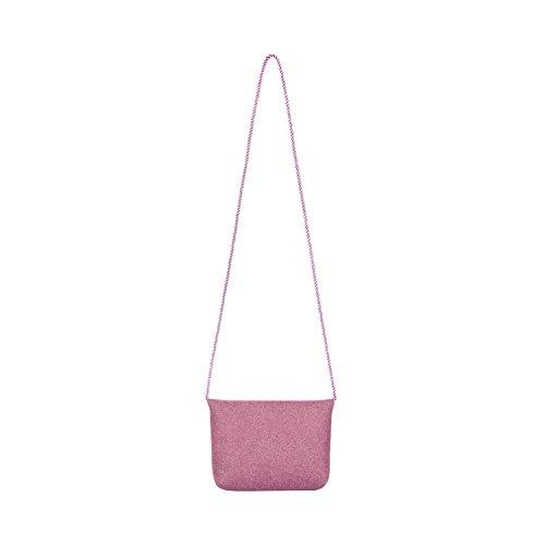 Almbock Trachten-Tasche Lilly in rosa altrosa pink - Trachtentasche handmade, handgemacht, aus 100% echtem Wollfilz, Tasche mit Schleife - 3