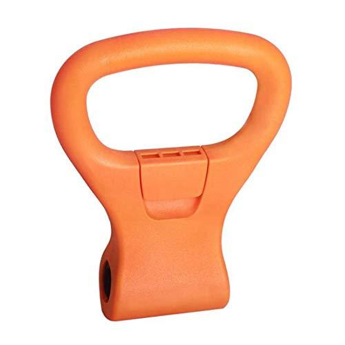 Agarre de pesas rusas ajustable, accesorio de viaje portátil, clip de pesas...