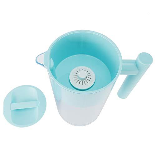 Caiqinlen ● Geschenke für die Familie Blauer tragbarer Wasserreiniger, Reinigungsfilter, sicherer und gesunder 3L für zu Hause
