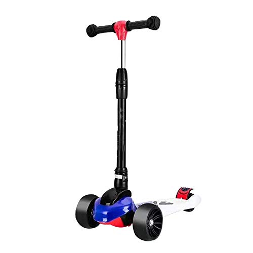 Buy TTWVUSGD Lightweight Kick Scooter Foldable Portable Height Adjustable Scooters with Foot Brake P...