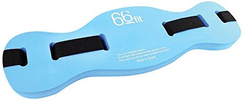 66Fit - Cintura Galleggiante per Piscina, Blu (Blu), S