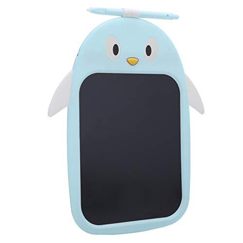 Tableta de dibujo inteligente Almohadilla de dibujo reescrita digital, para niños dibujando y aprendiendo Bloc de dibujo(Little penguin blue (color font))