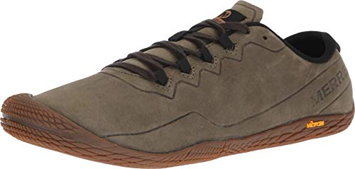 Merrell Herren Vapor Glove 3 Luna Leather Sneaker, Grün (Dusty Olive), 44 EU