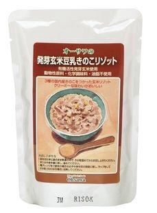 オーサワの発芽玄米豆乳きのこリゾット 180g×5個               JANコード :4932828023045 オーサワジャパン��