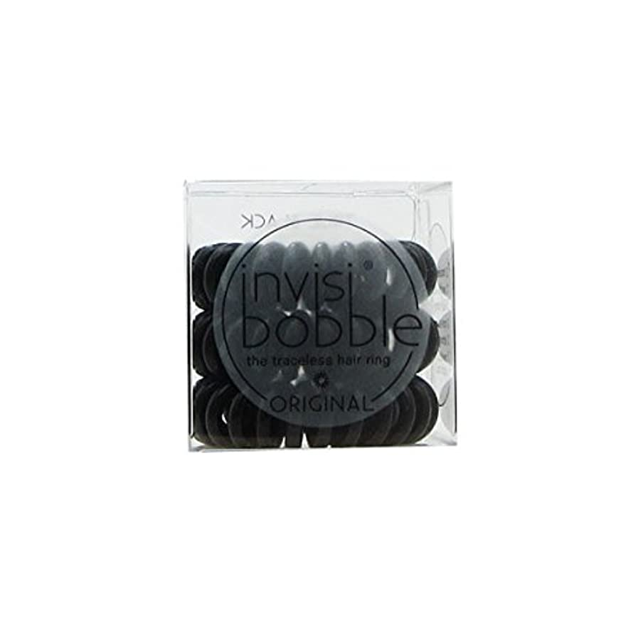 暴力防水構造Invisibobble Original Hair Ring True Black [並行輸入品]