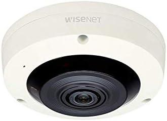 Hanwha Techwin XNF-8010R 6MP Network Fisheye Dome Camera with Night Vision, 1.6 mm Lens