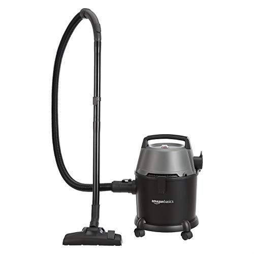 AmazonBasics Wet and Dry Vacuum Cleaner with Power Suction, Low Sound, High Energy Efficiency and 1...