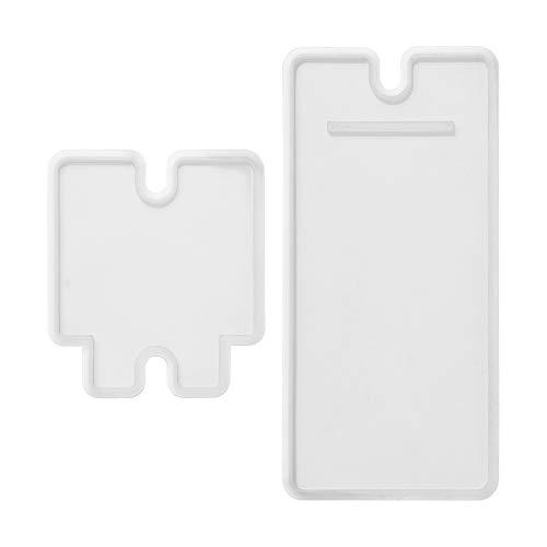 SnowFlower Handy-Ständer aus Kunstharz, Silikon-Handy-Halter, Epoxid-Gussformen für Heimwerker, Handwerk, Handy-Halterung