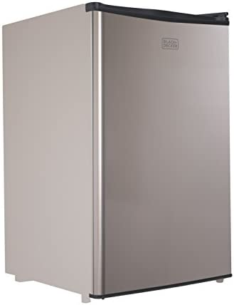 BLACK DECKER BCRK43V Compact Refrigerator Energy Star Single Door Mini Fridge with Freezer 4 product image