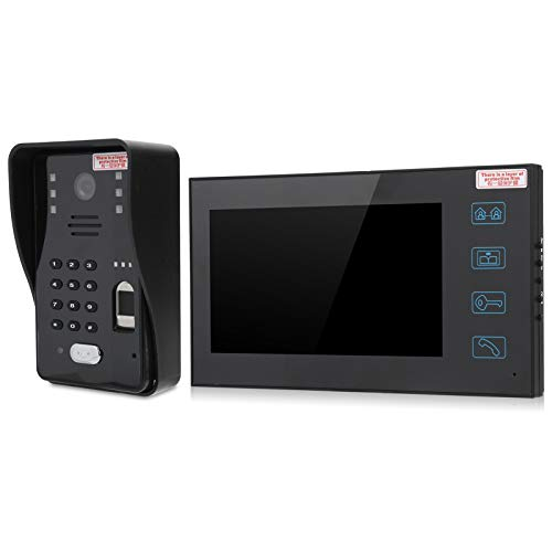 FOLOSAFENAR Sistema de Control de Acceso por videoportero, para 2 monitores, para Villas(European regulations)