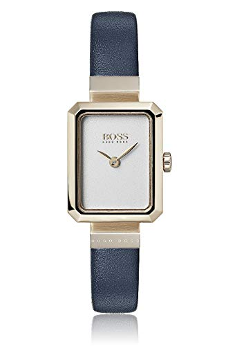 Hugo Boss Damen Analog Quarz Uhr mit Leder Armband 1502435
