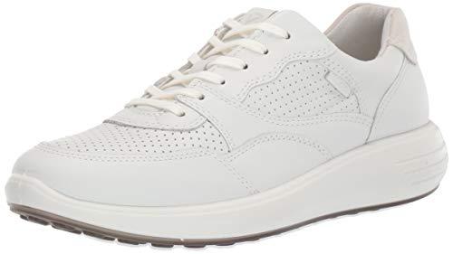 ECCO SOFT7RUNNERW, Zapatillas Hombre, Blanco (White/Shadow White 52292), 39 EU