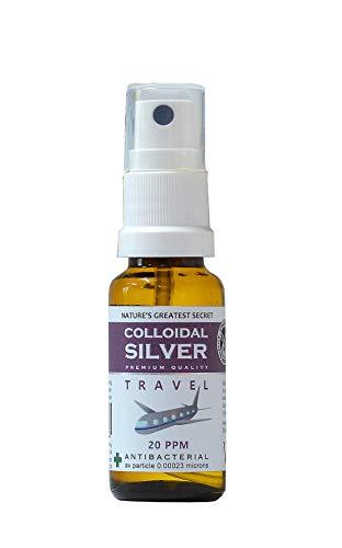 Nature's Greatest Secret 20 ppm Colloidal Silver Solution Spray 20ml