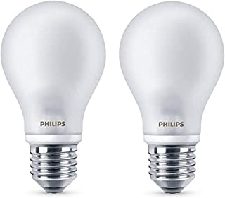 Philips ampoule LED E27 7W Equivalent 60W Verre Blanc chaud Lot de 2 (B00VQ63HLQ)   Amazon price tracker / tracking, Amazon price history charts, Amazon price watches, Amazon price drop alerts