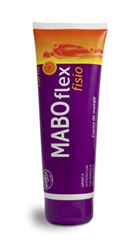 MABO Flex Fisio 250 ml - Crema de Masaje para Alivio de Dolores Musculares y Articulaciones Arnica Caléndula Mentol Hypericum Colágeno