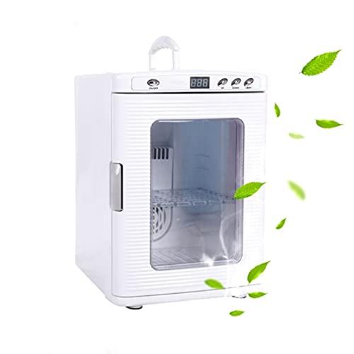 Mini Frigo Mini Frigorifero per Auto da Casa, Frigorifero di Refrigerazione E Riscaldamento di Grande capacità da 25 Litri, Utilizzato per L Ufficio, I Viaggi, Il Campeggio (Color : 220V)
