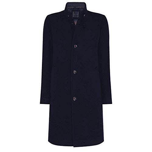 Tommy Hilfiger Stand Up Collar Padded Coat Chaqueta, Desert Sky, S para Hombre