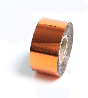 KUNSE DIY Papier Premium PVC Cuir Feuille d'or Bronzage Papier Estampage À Chaud Machine Bronzage-Bronze