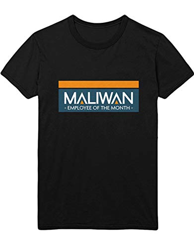 HYPSHRT Herren T-Shirt Gaming Maliwan Employee of The Month 2 Z100181 Schwarz M