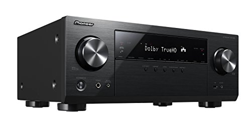 Pioneer VSX-832(B) Récepteur AV 5.1 canaux (Amplificateur HiFi 130 W/Canal, Multiroom, WiFi, Bluetooth, Hi-Res Audio, Dolby TrueHD-DTS:X, Services de Streaming, Radio Internet), Noir