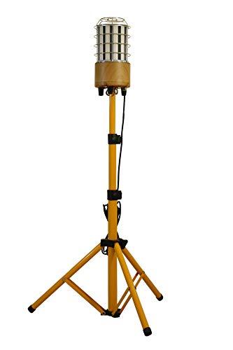 MeFard 100w Projecteur de Chantier sur Trépied,12000 lumens, Lumière à 360 degrés.Utile pour l'entrepreneur et la famille. Également utilisé pour un événement extérieur/Pary