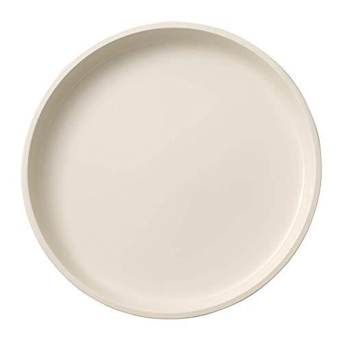 Villeroy & Boch Servierplatte, Porzellan, Weiß, 30 x 30 x 4 cm