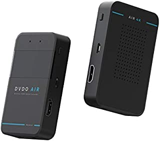 DVDO Air4K 60Ghz ワイヤレス HDMI 無レイテンシー、干渉なし、ソフトウェアの更新のためのオンライン設定ツールと信号強度インジケータ付き