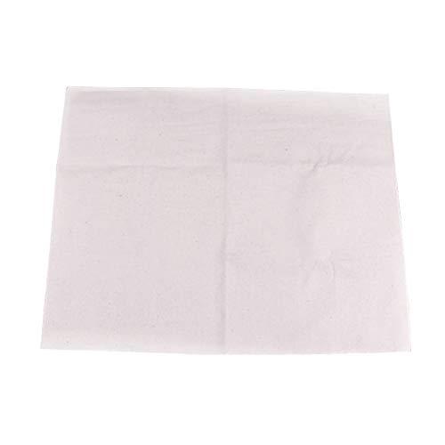BESTonZON Paño de lino para hornear de algodón para pan francés, 45 x 36 cm