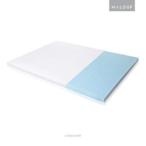 ISOLUS Ventilated Gel Memory Foam Mattress Topper, Full