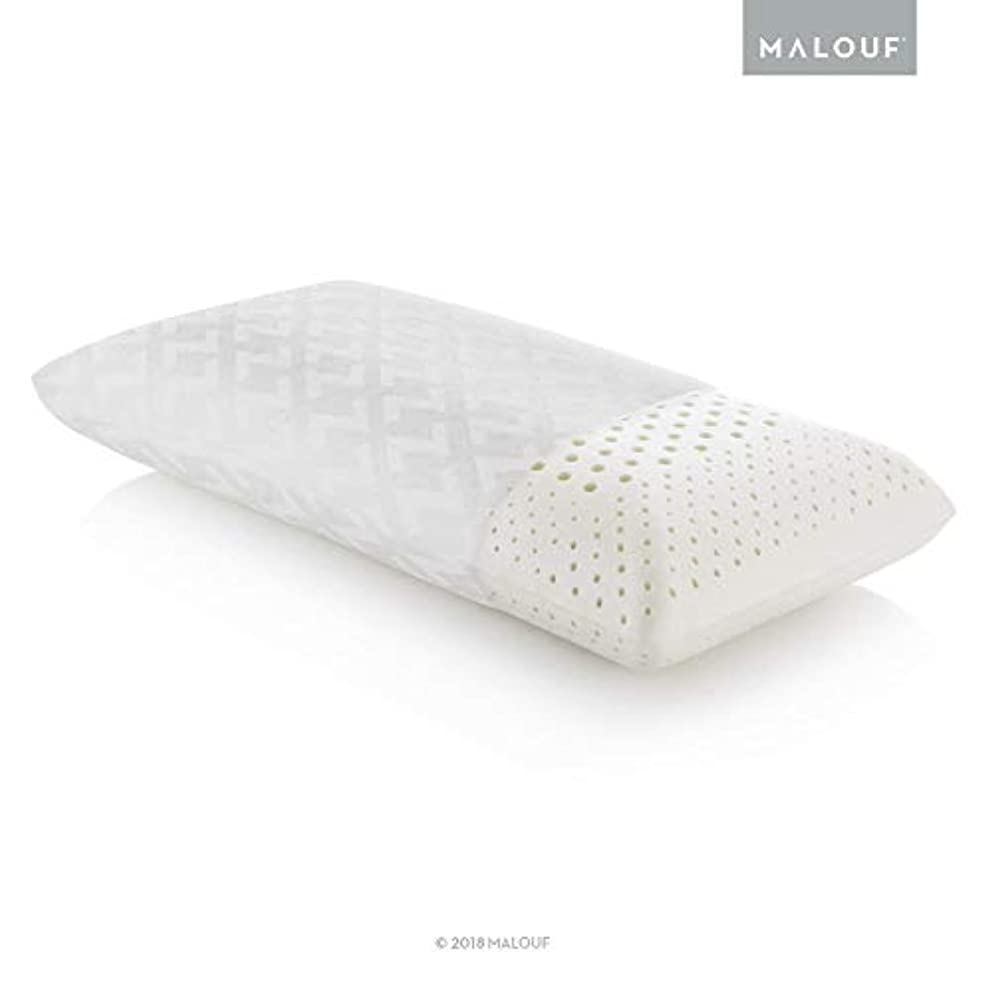 Z Zoned DOUGH Memory Foam Pillow with Tencel Removable Cover - High Loft - Plush - King