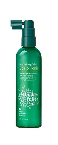 Thicker Fuller Hair, Nourishing Daily Scalp Tonic, 4 Oz